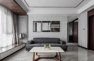 深圳中海康城花园-现代风格-109㎡三居室