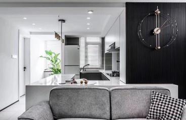 75平米-现代-二居室