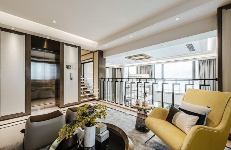 深圳香蜜湖·九号大院-新中式-256㎡四居室