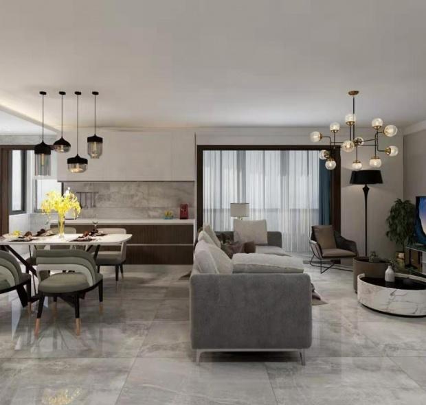 140平米-现代-三居室
