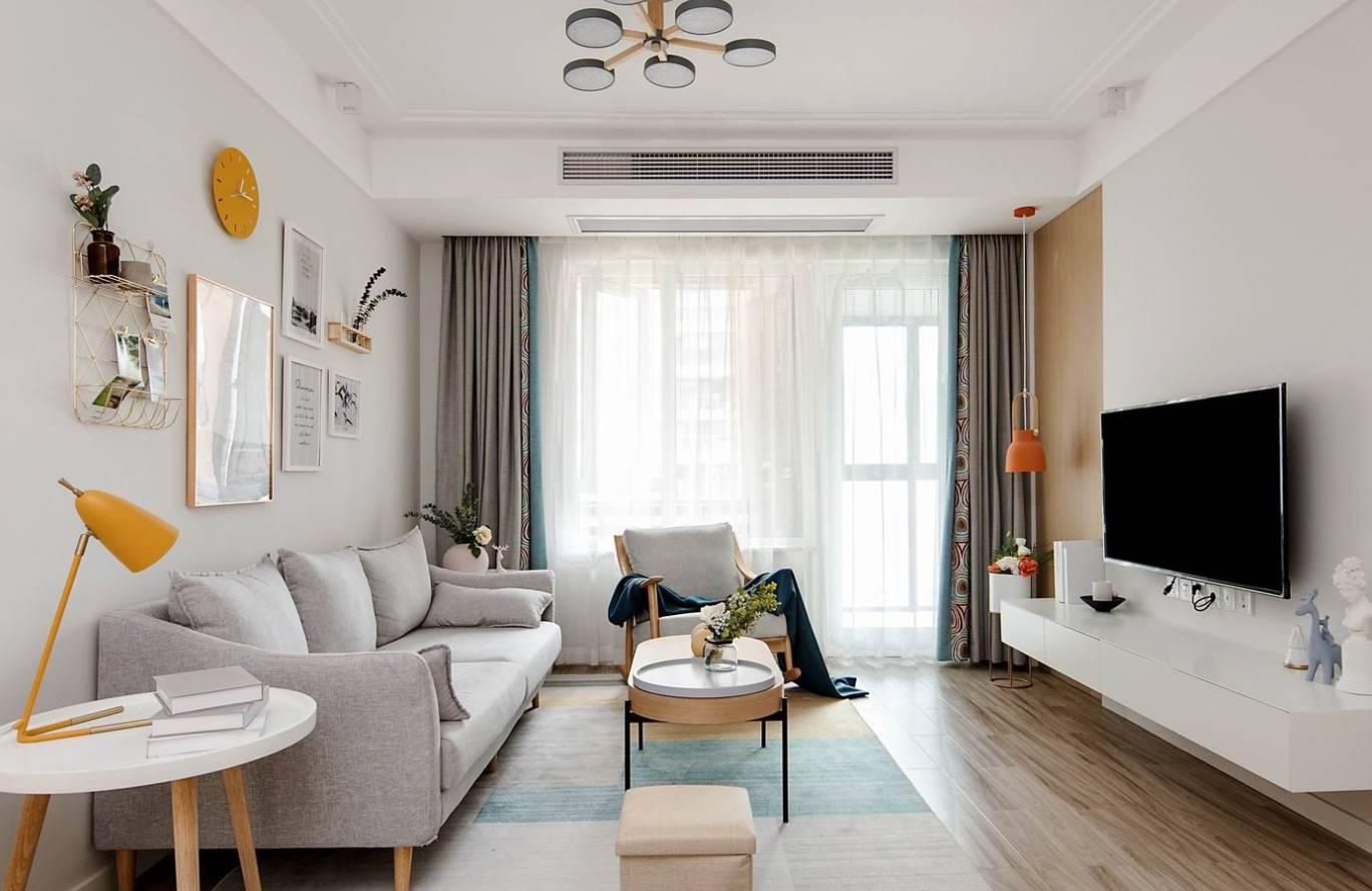 天汇城-北欧风格-89㎡三居室