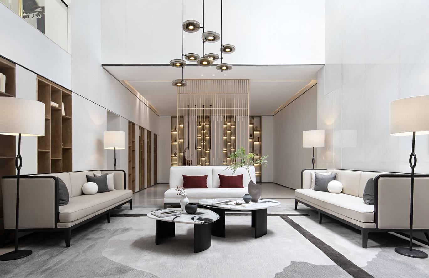 金色家园-新中式风格-198㎡五居室