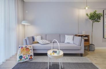 新亚洲花园-现代风格-98m²三居室