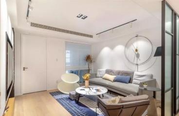 82平的小户型二居室,设计感十足,每个细节都让人感到惊艳