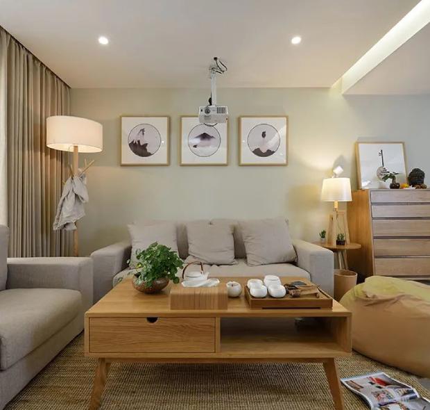 海晖大厦-日式风格-110m²三居室
