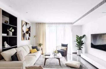 143㎡现代主义3室2厅,品味简约纯粹的生活格调