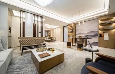 中海怡瑞山居-美式风格-128m²三居室