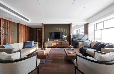 香山美墅-现代中式装修-246㎡四居室