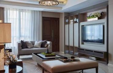深圳公园大地-欧式装修-264㎡四居室
