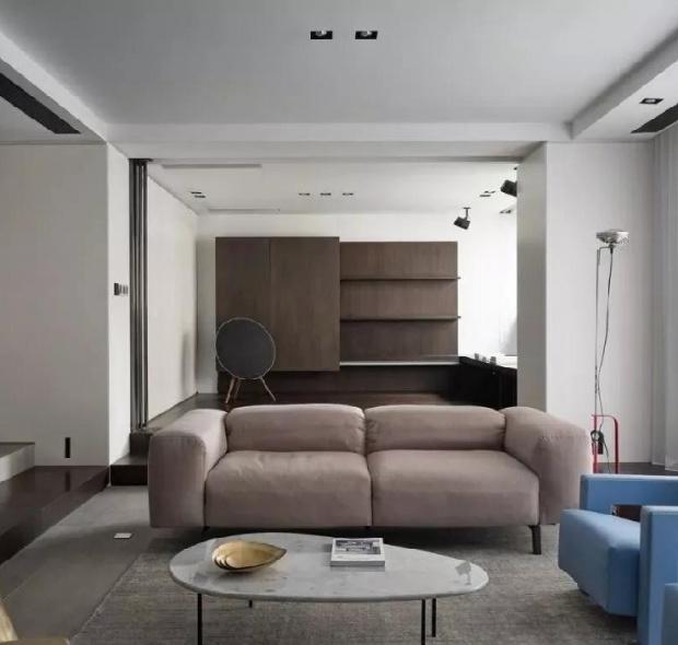 158㎡现代简约三居室装修案例