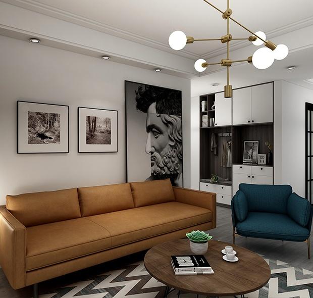 118㎡现代简约-三居室
