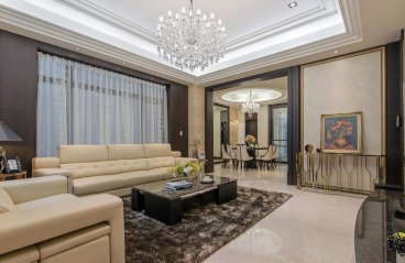 深圳圣莫丽斯-新古典风格装修-330㎡别墅