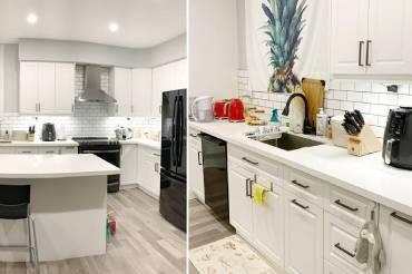美好家居里的梦想中岛厨房! 纯白厨房耐看又迷人