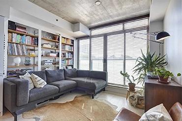 现代风:百叶窗+透光玻璃+LDK,文艺范儿小屋