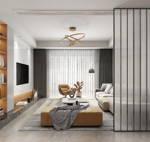 120平米-现代-3房1厅1卫