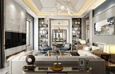 420平米-现代轻奢-5房2厅2卫
