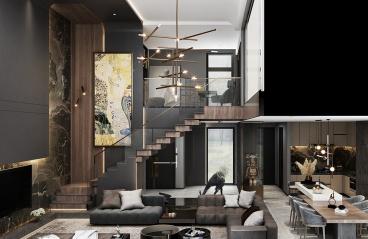 220平方-现代-别墅