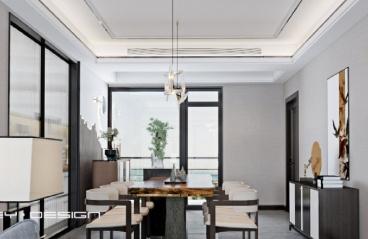 150平米-新中式-3室2厅