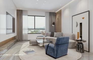 上海高科西路—现代—98㎡三居室