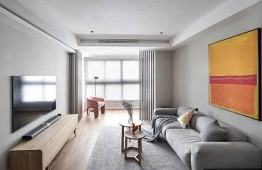 深圳珑禧雅苑-现代风格-89㎡三居室