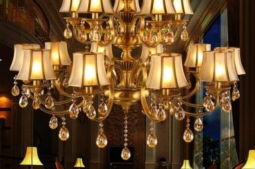 欧式古典吊灯有哪些?
