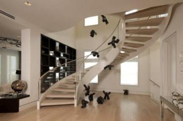家用旋转楼梯尺寸设计技巧及注意事项