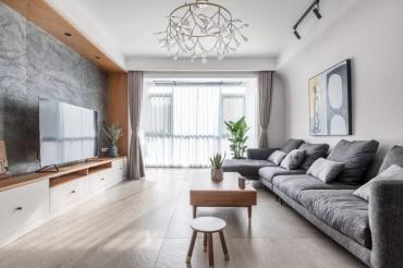北欧风:暖色私宅!