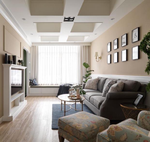 深圳博林天瑞-美式-180㎡四居室