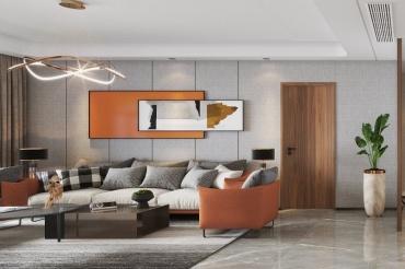 80平的现代风小户型二居室,90后夫妻的温馨小窝