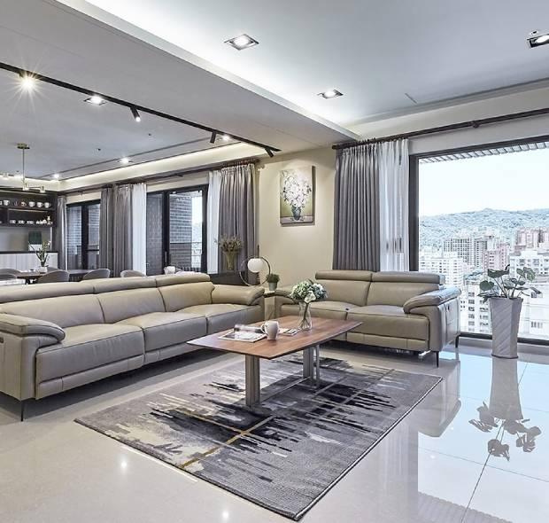深圳星河盛世-现代简约-155㎡四居室